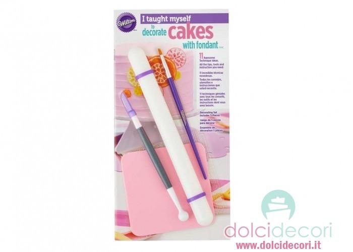 Mattarello e accessori per pasta di zucchero - Accessori per cake design ...