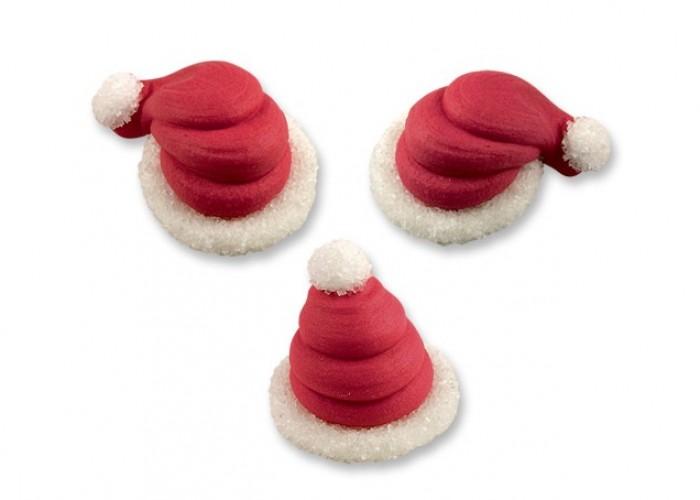 Decorazioni torte e dolci · Decorazioni Natalizie  Cappelli Babbo Natale.  Cappelli Babbo Natale 6b1d397e5197