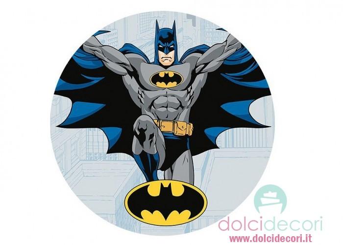 Cialde per torta compleanno Batman
