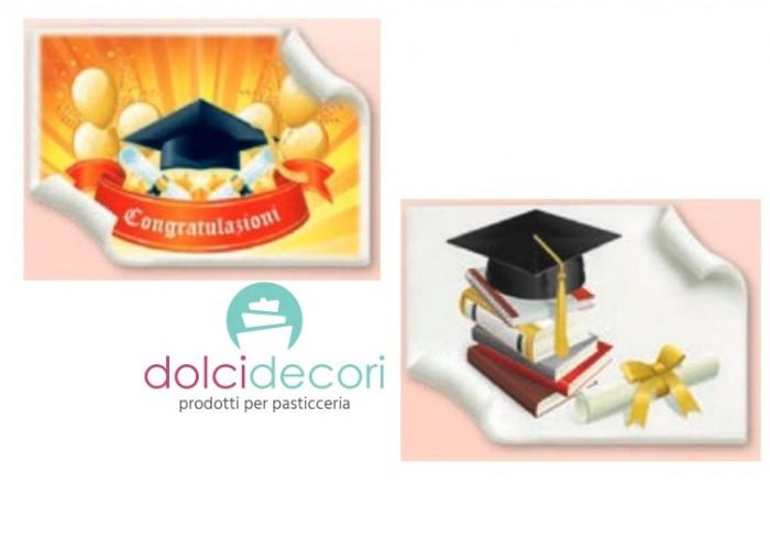 Pergamena in pasta di zucchero laurea 39565dbf223f