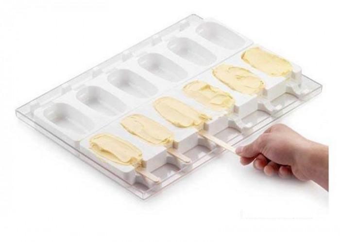 silicone per stampi  Kit stampi silicone per gelati su stecco