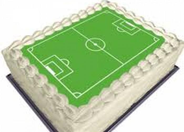 Campo Di Calcio Ostia Per Torte Decorate
