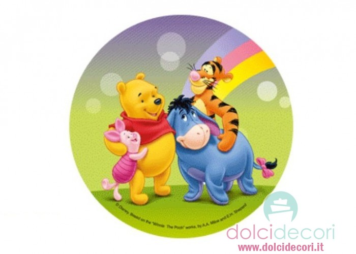 Cialda per torte Winnie the Pooh
