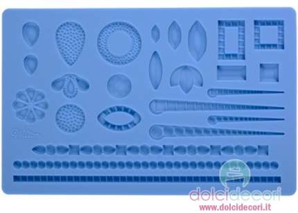 Wilton stampo silicone gemme
