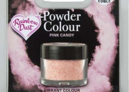 Colorante Rainbow Dust rosa candy