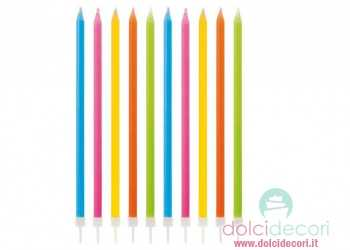 Candele per compleanno lego for Candele colorate
