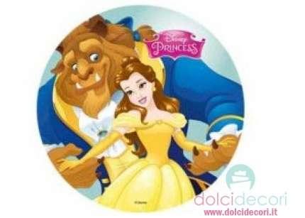 Decorazioni Torte Soggetti Disney La Bella E La Bestia