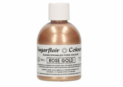 Colorante Rosa Gold Glitter