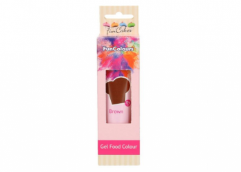 Coloranti alimentari gel marrone