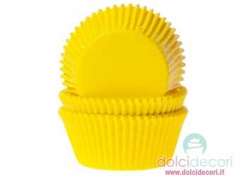 Pirottini cupcake/muffin giallo