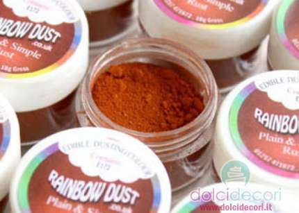 Colorante Rainbow Dust marrone
