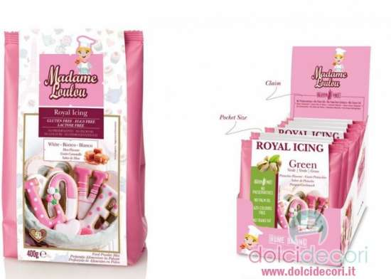 Royal icing gialla