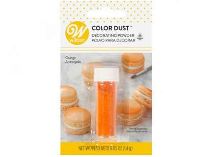 Colore wilton color dust arancio