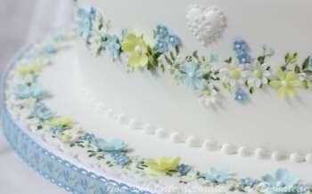 Decorazioni torte battesimo bimbe e bimbo - Decorazioni per battesimo bimba ...
