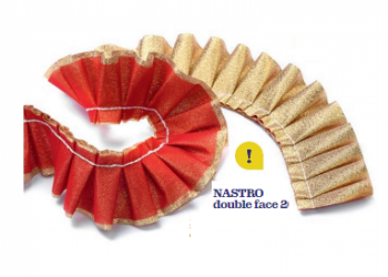 Nastro stoffa double-face
